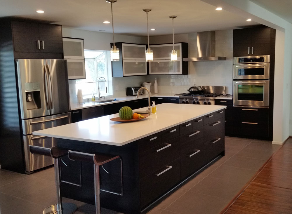 ways installation idea kitchen hbe install cabinet homely to cabinets