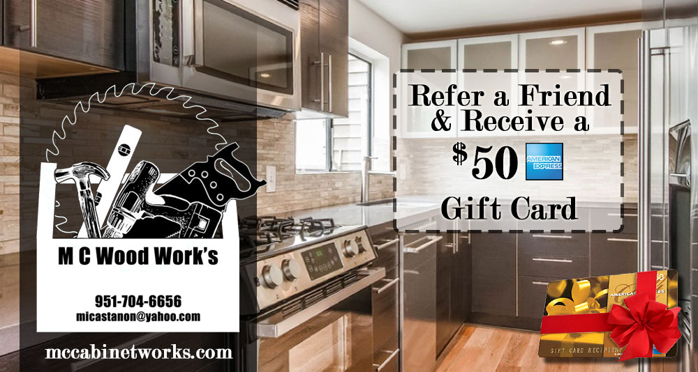 Cabinet Installation Special Offer